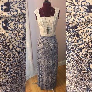 Beautiful Cynthia Rowley maxi skirt